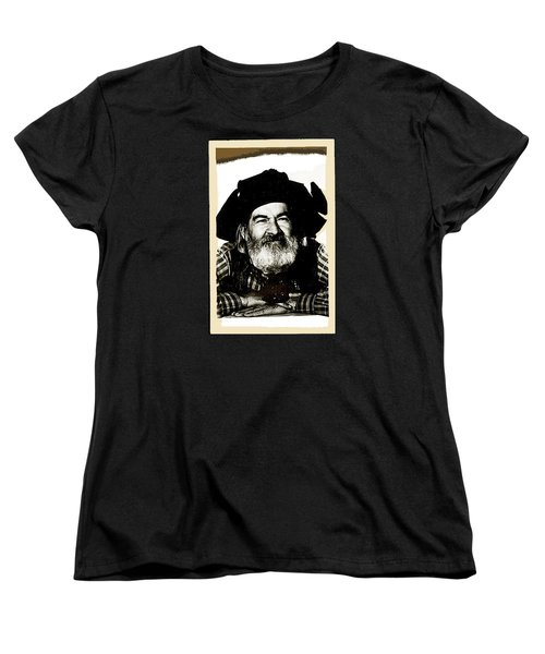 George Hayes Portrait #1 Card Women's T-Shirt (Standard Cut)