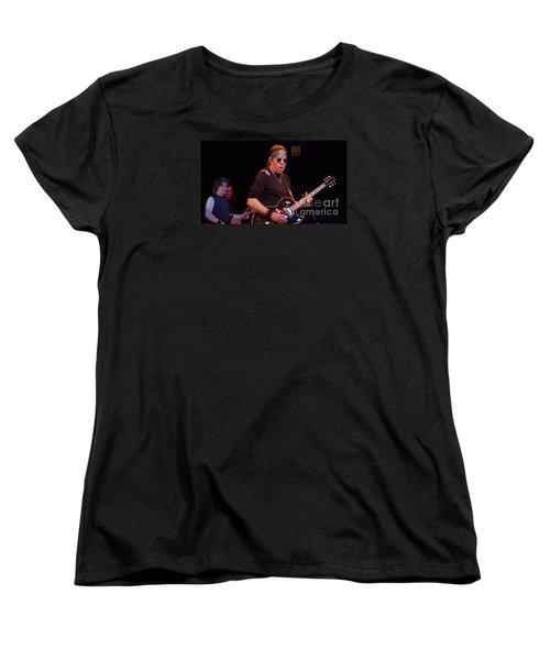 Women's T-Shirt (Standard Cut) featuring the photograph George Thorogood by John Telfer