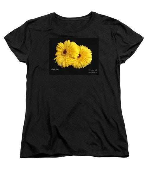 Gerber Babies 2 Women's T-Shirt (Standard Cut) by Becky Lupe