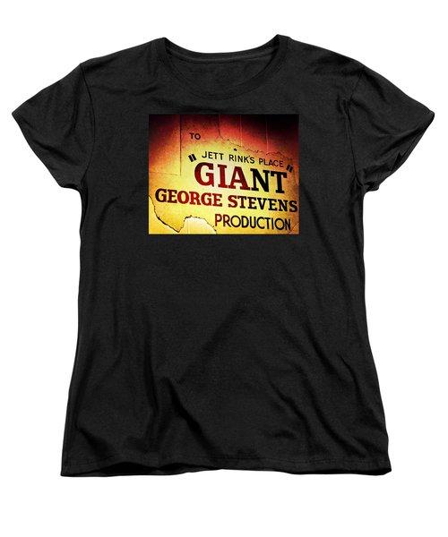 Giant Women's T-Shirt (Standard Cut) by Trish Mistric