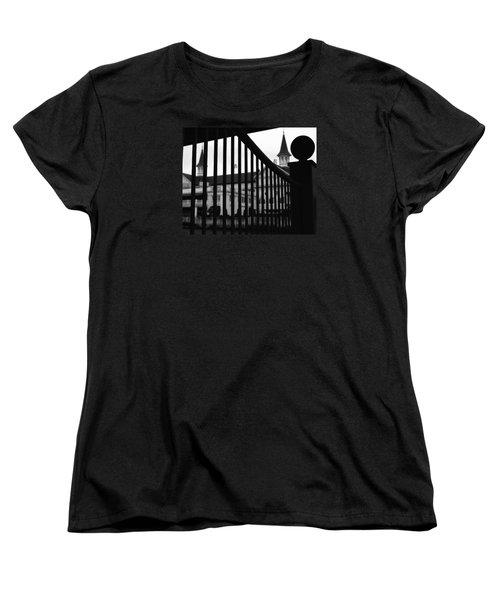 Giddyup Women's T-Shirt (Standard Cut) by Robert McCubbin