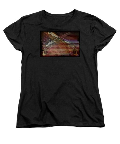 Gimme Back My Bullets Women's T-Shirt (Standard Cut) by Absinthe Art By Michelle LeAnn Scott