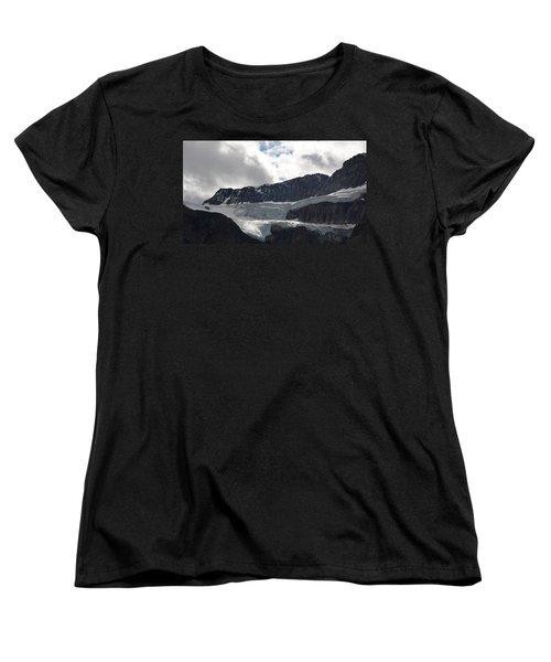 Glacial Mountain Women's T-Shirt (Standard Cut) by Cheryl Miller