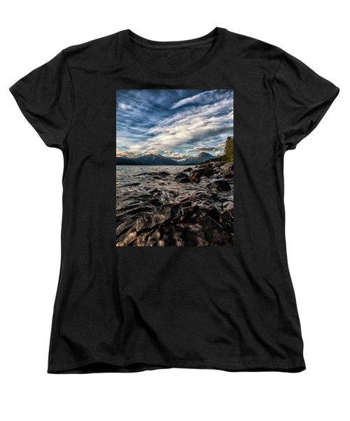 Glacier Whispers Women's T-Shirt (Standard Cut) by Aaron Aldrich