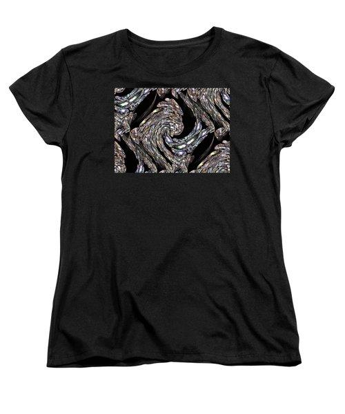 Glass Bird Women's T-Shirt (Standard Cut) by Kristin Elmquist