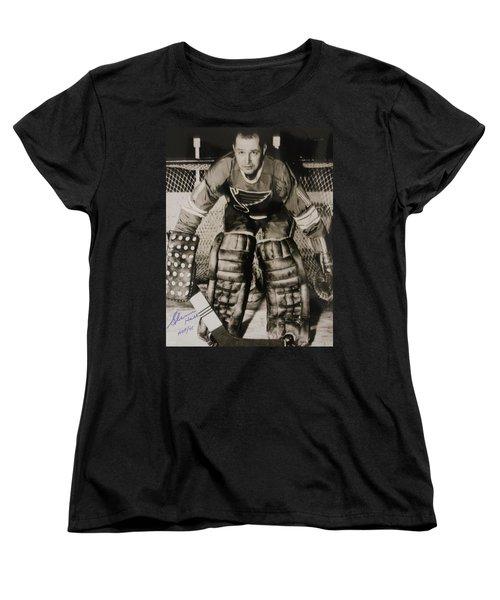 Glenn Hall Poster Women's T-Shirt (Standard Cut) by Gianfranco Weiss