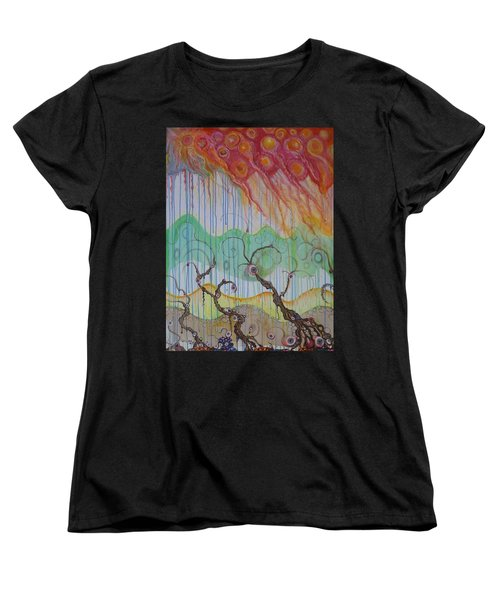 Climate Change, The Final Chapter Women's T-Shirt (Standard Cut) by Douglas Fromm