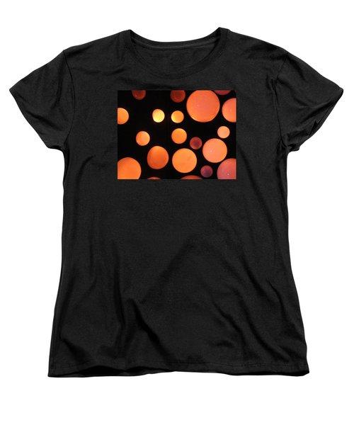 Glowing Orange Women's T-Shirt (Standard Cut) by Tiffany Erdman