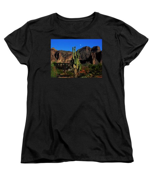 Go West Young Man Women's T-Shirt (Standard Cut) by Natalie Ortiz