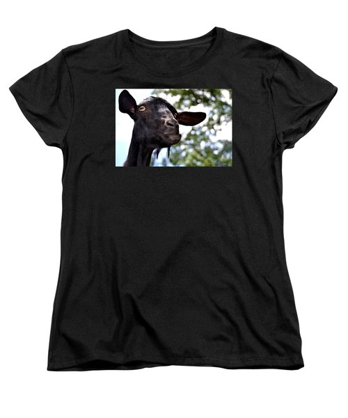 Goat Women's T-Shirt (Standard Cut) by Tara Potts