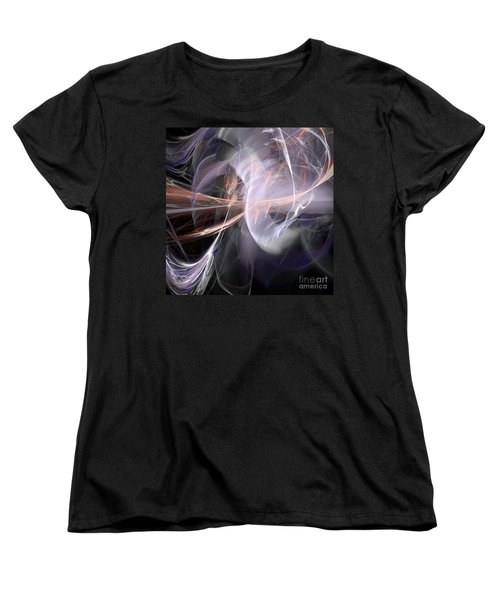 Women's T-Shirt (Standard Cut) featuring the digital art God Speed by Margie Chapman