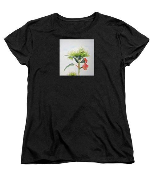 Flowering Gum Tree Women's T-Shirt (Standard Cut) by Elvira Ingram