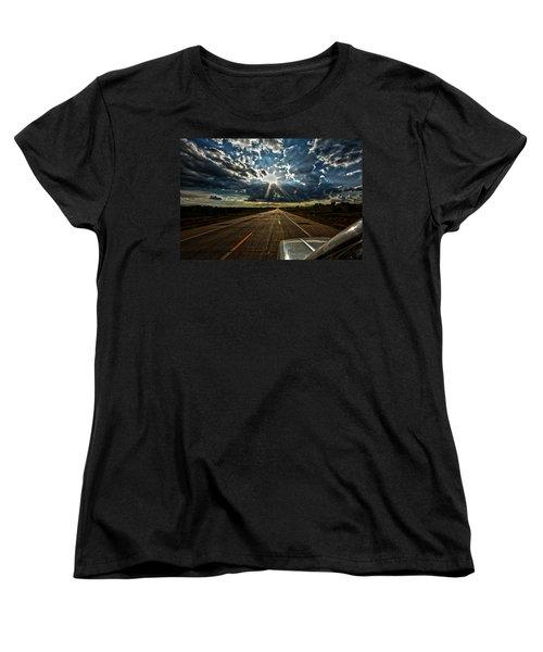 Going Home Women's T-Shirt (Standard Cut) by Brian Duram