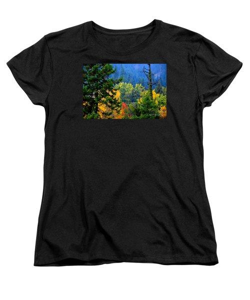 Gold Zen Women's T-Shirt (Standard Cut) by Greg Patzer