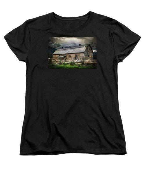 Golden Barn Women's T-Shirt (Standard Cut) by Wayne Sherriff