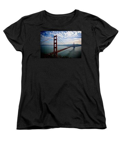 Golden Gate Open Women's T-Shirt (Standard Cut) by Eric Tressler