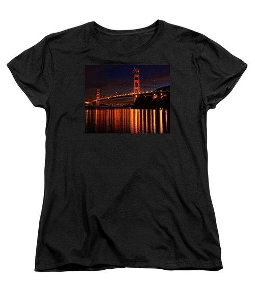 Golden Glory Women's T-Shirt (Standard Cut) by Dave Files
