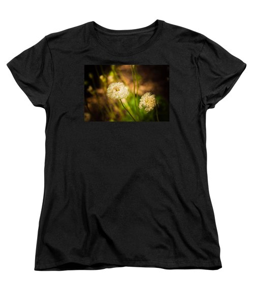 Women's T-Shirt (Standard Cut) featuring the photograph Golden Hour by Sara Frank