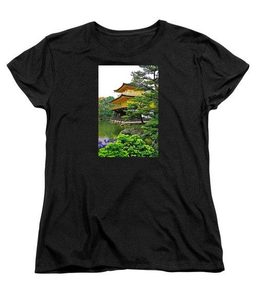 Golden Pavilion - Kyoto Women's T-Shirt (Standard Cut) by Juergen Weiss