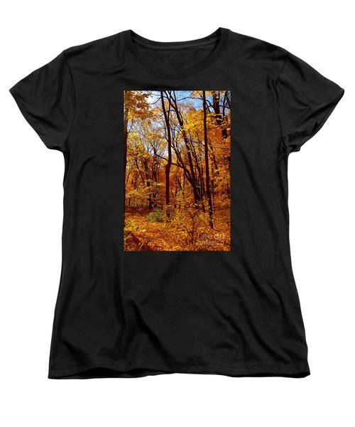 Golden Splendor Women's T-Shirt (Standard Cut) by Jacqueline Athmann