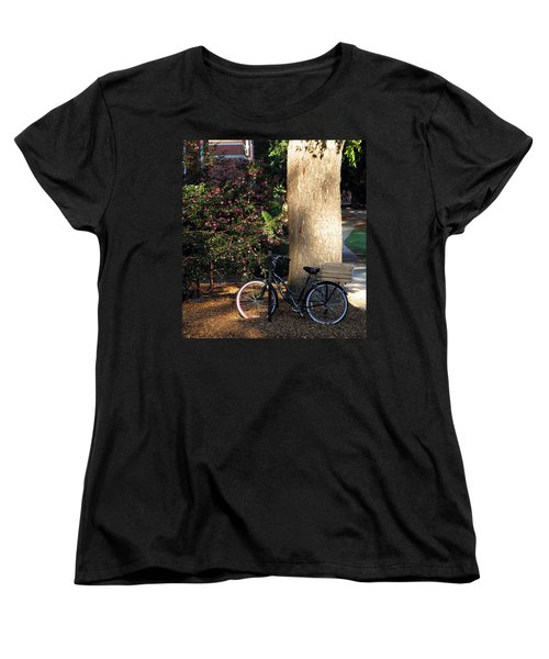 Women's T-Shirt (Standard Cut) featuring the photograph Gone To Class by Greg Simmons