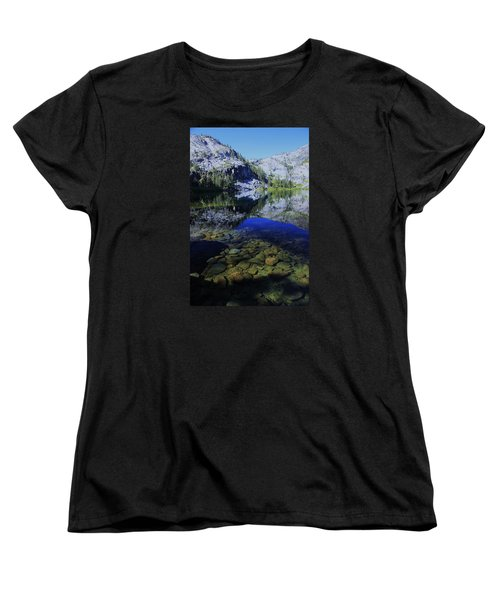 Women's T-Shirt (Standard Cut) featuring the photograph Good Morning Eagle Lake by Sean Sarsfield