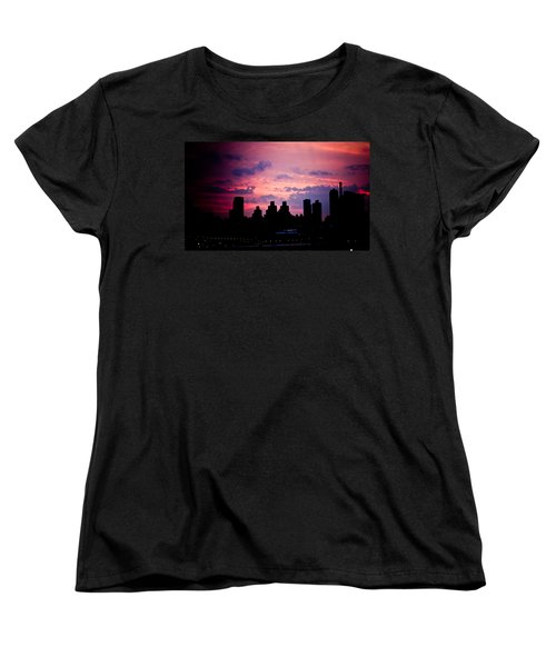 Women's T-Shirt (Standard Cut) featuring the photograph Good Morning New York by Sara Frank