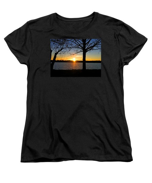 Good Night Potomac River Women's T-Shirt (Standard Cut) by Emmy Marie Vickers