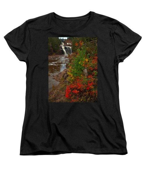 Gooseberry Foilage Women's T-Shirt (Standard Cut) by James Peterson