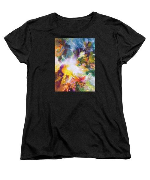 Gossamer Women's T-Shirt (Standard Cut) by Sally Trace