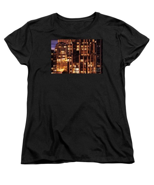 Women's T-Shirt (Standard Cut) featuring the photograph Gothic Living - Yaletown Ccclxxx by Amyn Nasser
