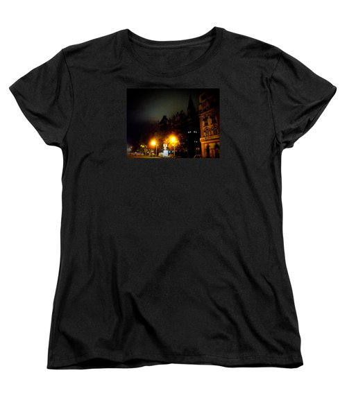 Women's T-Shirt (Standard Cut) featuring the photograph Gothic Skyline by Salman Ravish