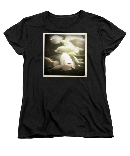 Women's T-Shirt (Standard Cut) featuring the photograph Gouramis by Bradley R Youngberg