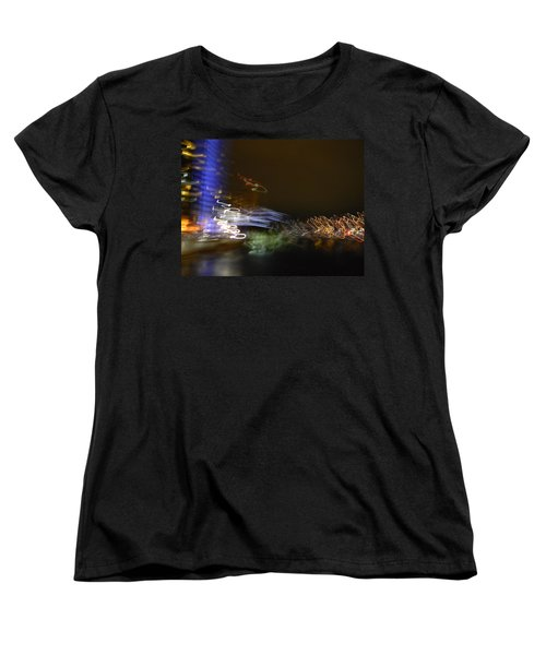 G.r. Grand River Dazzling Lights Women's T-Shirt (Standard Cut) by Mark Minier