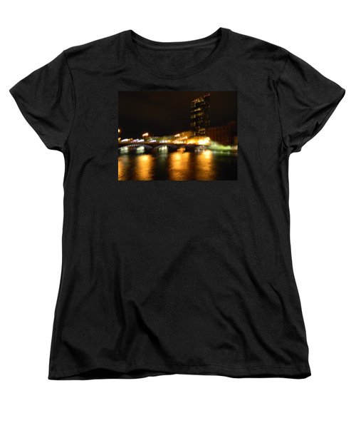 G.r. Grand River Glow Women's T-Shirt (Standard Cut) by Mark Minier