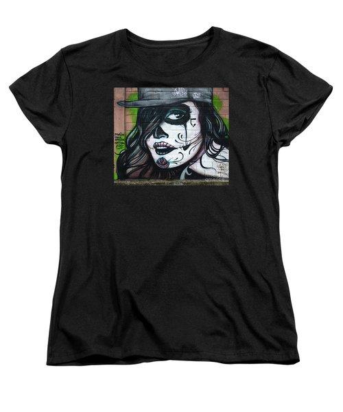 Graffiti Art Curitiba Brazil 21 Women's T-Shirt (Standard Cut) by Bob Christopher