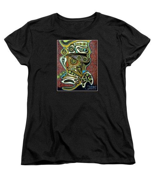 Grain De Folie.. Women's T-Shirt (Standard Cut) by Jolanta Anna Karolska