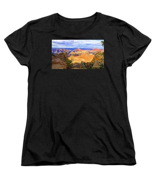 Grand Canyon Women's T-Shirt (Standard Cut) by Jason Abando