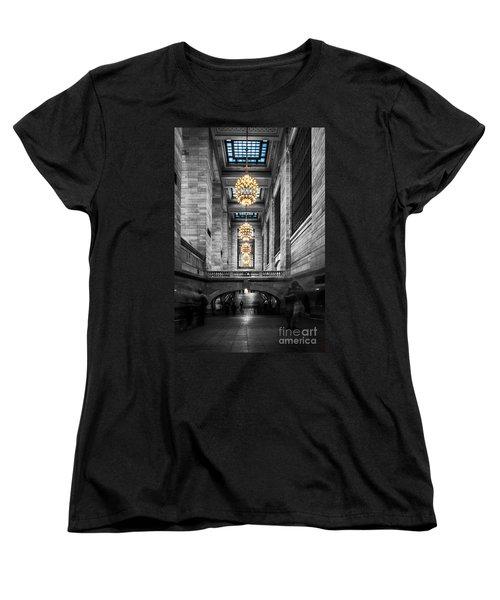 Grand Central Station IIi Ck Women's T-Shirt (Standard Cut) by Hannes Cmarits