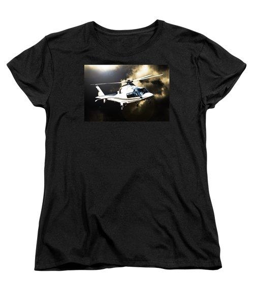 Grand Flying Women's T-Shirt (Standard Cut) by Paul Job