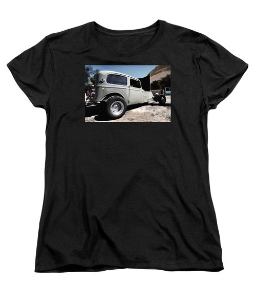 Women's T-Shirt (Standard Cut) featuring the photograph Greaserama 2011 by Liane Wright
