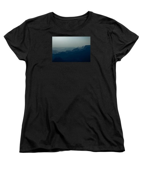 Women's T-Shirt (Standard Cut) featuring the photograph Great Crevice by Joel Loftus
