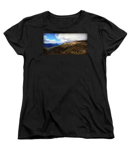 Greece Countryside Women's T-Shirt (Standard Cut) by Eric Liller