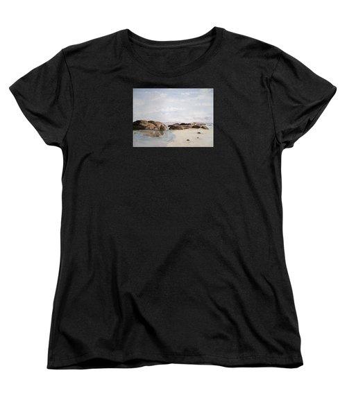 Greens Pool Western Australia Women's T-Shirt (Standard Cut) by Elvira Ingram