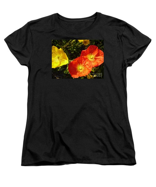 Greeting Before My Coffee Women's T-Shirt (Standard Cut) by Gem S Visionary