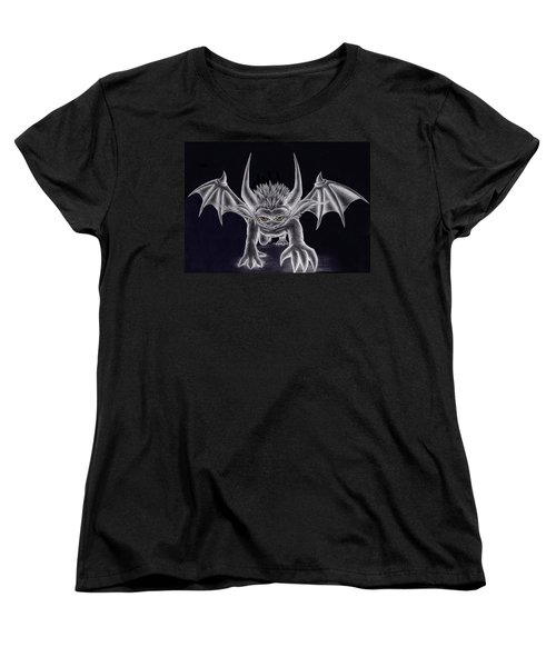 Grevil Silvered Women's T-Shirt (Standard Cut) by Shawn Dall