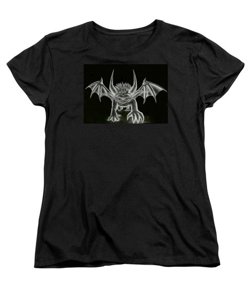 Grevil Statue Women's T-Shirt (Standard Cut) by Shawn Dall