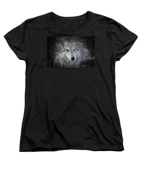 Grey Stone Women's T-Shirt (Standard Cut) by Athena Mckinzie
