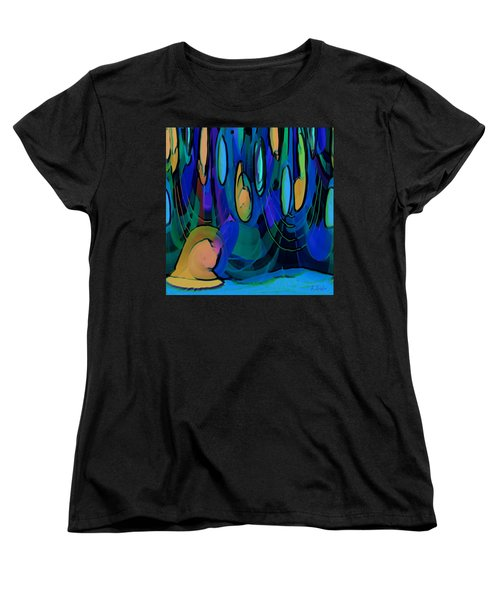Grow Where You Are Planted Women's T-Shirt (Standard Cut) by Alec Drake
