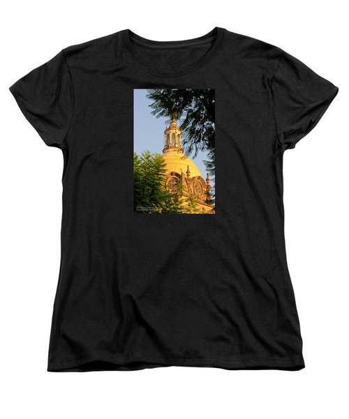 Women's T-Shirt (Standard Cut) featuring the photograph The Grand Cathedral Of Guadalajara, Mexico - By Travel Photographer David Perry Lawrence by David Perry Lawrence